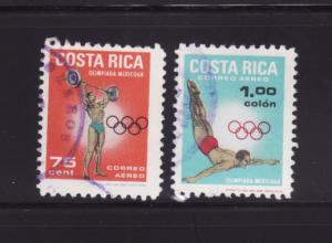 Costa Rica C485-C486 U Sports, Olympics