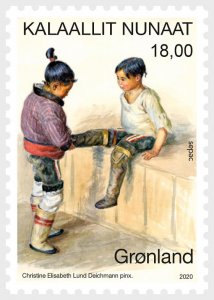 2020 Greenland Artwork in National Collection - SEPAC Issue (Scott NA) MNH