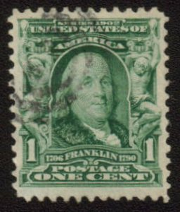 MALACK 300 VF/XF, very nice light cancel, super stamp gu1642