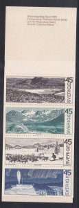 Sweden # 857a, Around the Arctic Circle, Complete Booklet, NH, 1/2 Cat.