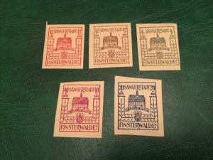 ICOLLECTZONE Germany Local Lot VF hinged