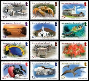 Stamps Ascension Island 2020-ASC ISLAND. TREASURES DEFINITIVE.