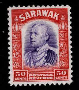 SARAWAK Scott 128 MH* stamp