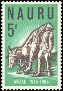 1965 Nauru #57, Complete Set, Never Hinged