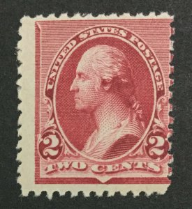 MOMEN: US #220a ONE HAT MINT OG **NH** POST OFFICE FRESH #31120