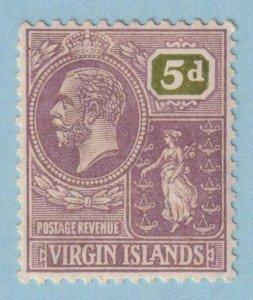 BRITISH VIRGIN ISLANDS 62  MINT LIGHTLY HINGED OG * NO FAULTS EXTRA FINE!