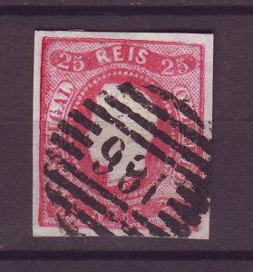 J25484 JLstamps 1866-7 portugal used #20 king