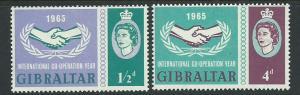 Gibraltar SG 182 & 183 set  Mint Very Light Hinge MVLH