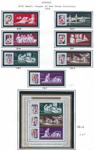 BURUNDI 1969-1977 SCV $81.10 ALL MNH STARTS @20% OF CAT VALUE