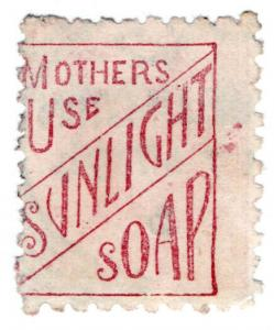 (I.B) New Zealand Postal : Adson (Mothers Use Sunlight Soap)