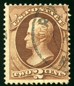 US #146 VF super nice town cancel,   Bid high and often on this Classic GEM!