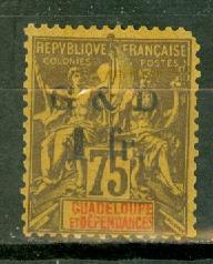 Guadeloupe 49 mint CV $42.50