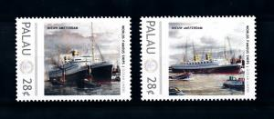 [90490] Palau  Ships Nieuw Amsterdam Ocean Liners Holland Amerika  MNH