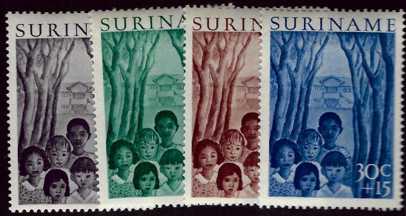 Surinam B58-B61 Mint VF SCV$24.00...Grab Popular Stamps!