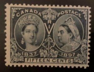 Canada #58 Mint F-VF LH -- Jubilee  C$275.00