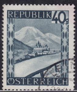 Austria 470 USED 1945 Mariazell, Styria 40g