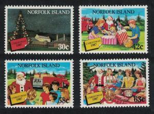 Norfolk Christmas 4v issue 1987 SG#429-432 SC#422-425