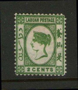 Malaya S. Setts. Labuan 1883 SG 17 MH