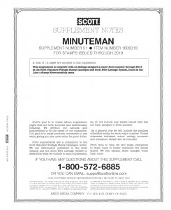 2019 Scott Minuteman Album Supplement