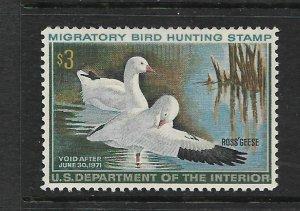 USA, RW37  MNH,  MIGRATORY BIRD HUNTING & CONSERVATION