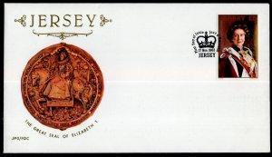 Jersey 268 Queen Elizabeth II U/A FDC
