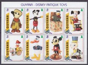 1996 Guyana 5646-5653KL Disney - Dolls