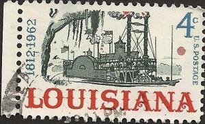# 1197 USED LOUISIANA STATEHOOD 150TH ANNIV.