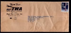 Malta TWA 1964 Cover
