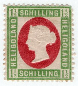 (I.B) Heligoland Postal : Definitive Head 1½sch