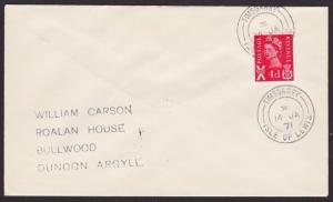 GB SCOTLAND 1971 cover TIMSGARRY / ISLE OF LEWIS  cds......................1157
