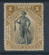 North Borneo  SG 92   Used  perf 13½ x 14  please see scan & details