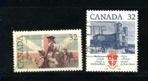 Can #1028-29   -1  used VF 1984 PD