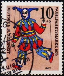 Germany. 1970 10pf+5pf  S.G.1559 Fine Used