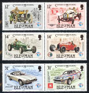 Isle of Man Sc# 284-286 MNH 1985 Motoring