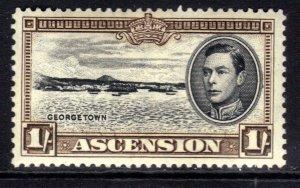 Ascension Island 1938 - 53 KGV1 1/-d George Town MM SG 44a ( R613 )