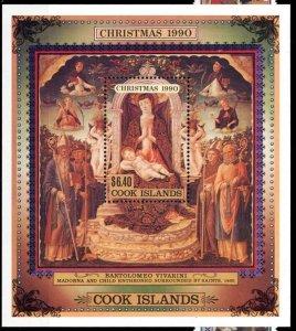 Cook Islands 1990 Scott 1046 Chrisstmas  MNH