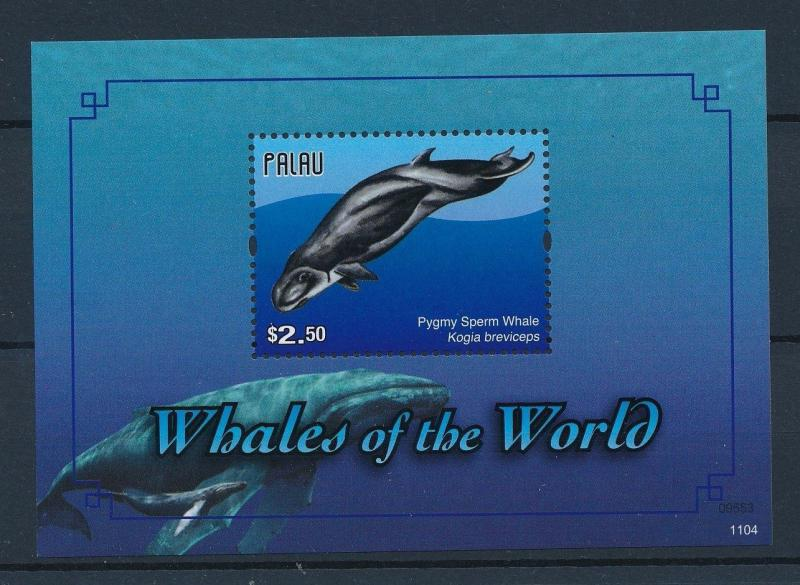 [35250] Palau 2011 Marine Life Whales MNH Sheet