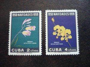 Stamps - Cuba - Scott#611-612 - MNH Pair