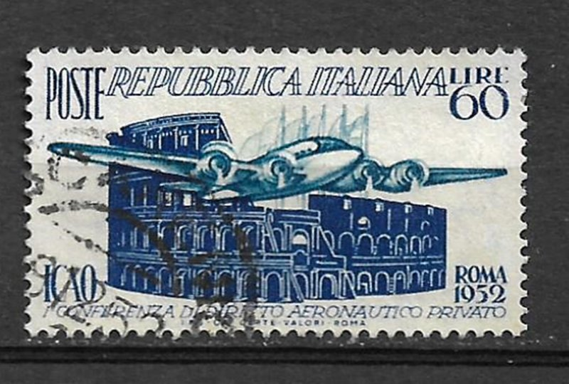COLLECTION LOT #481 ITALY # 611 1952