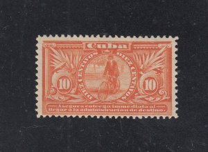 Cuba Scott #E2 MH Note