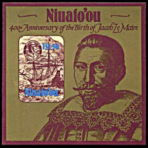 Niuafo'ou 55, MNH, 400th Birth Anniversary of Jacob LeMaire souvenir sheet