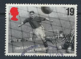 Great Britain SG 1925  Used  - European Football