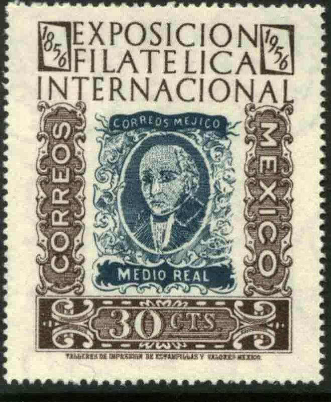 MEXICO 897, 30c Exhibit Cent 1st postage stamps MNH