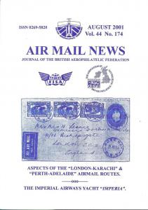 Air Mail News: Journal of the British Aerophilatelic Fede...