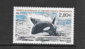 WHALES - FRENCH SOUTHERN ANTARCTIC TERRITORIES #428  MNH