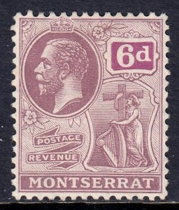 Montserrat - Scott #68 - MH - Pencil on reverse - SCV $3.50