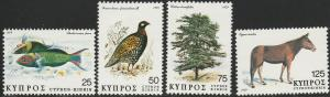 Cyprus, #516-519 Unused From 1979