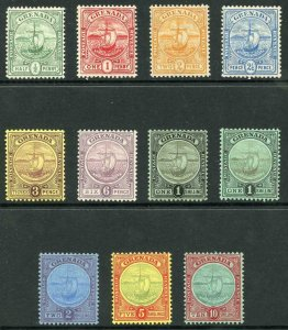 Grenada SG77/88 1906/11 Set of 11 M/Mint