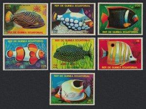 Equatorial Guinea MNH Set Tropical Fish