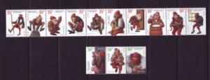 Iceland Sc 896-7 1999 Christmas Elves stamp set mint NH